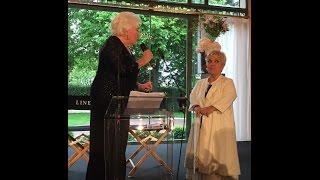 Mimie Mathy reçoit la Légion d