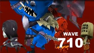 Samurai vs Zombies Defense 2 |  Wave 710 - RONIN + KUNOICHI