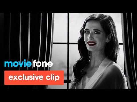 'Sin City: A Dame to Kill For' DVD Clip (2014): Eva Green, Josh Brolin