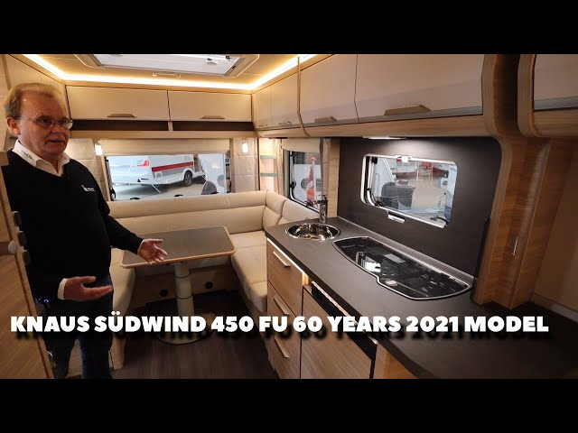 Knaus Südwind 450 FU 60 Years 2021 model (Reklame)