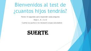tests en español