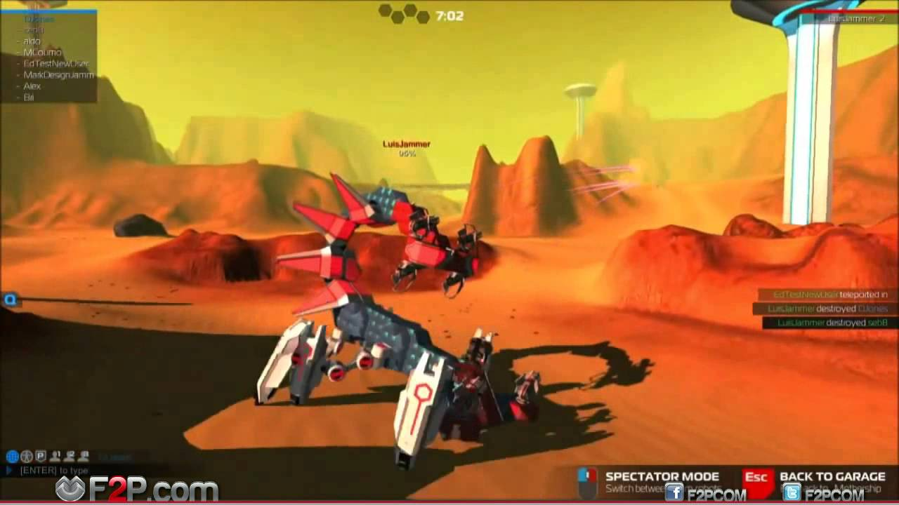 Robocraft Free2Play - Robocraft F2P Game, Robocraft Free-to-play