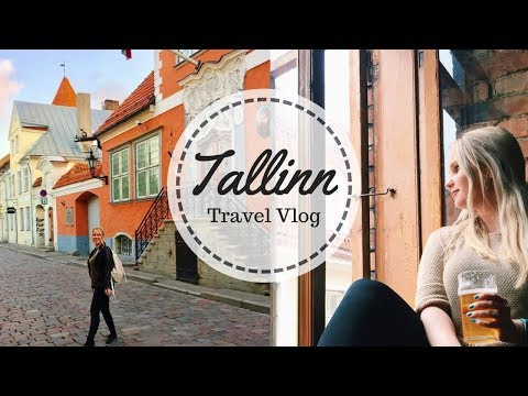 Exploring Tallinn's Old Town, Food, and Bars | Estonia Travel Guide Vlog