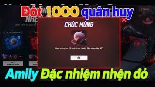 Liên Quân Mobile Đốt 1000 Quân Huy Chuột Bạch Amily Đặc công nhện đỏ 15 quân huy hay 499 chọn đi AE