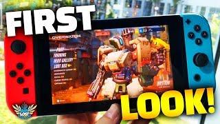 Overwatch Nintendo Switch Gameplay - FIRST LOOK!