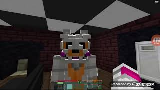 Reacting to lolbit pranks everyone Minecraft roleplay part 1
