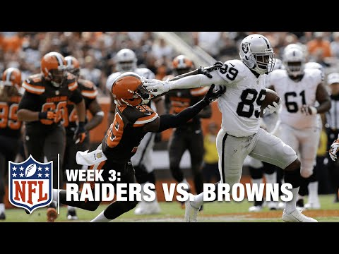 Amari Cooper Shows Off His Speed For A 40-Yard Grab | Raiders Vs. Browns | NFL