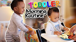 TODDLER MORNING ROUTINE! | 17 MONTH OLD