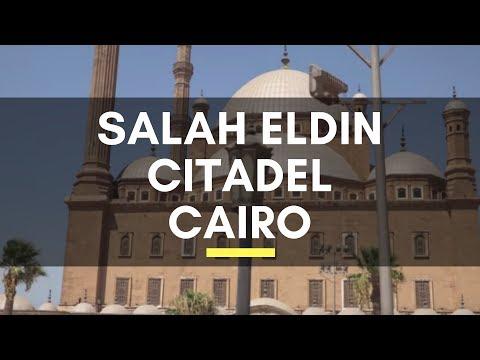 Salah Eldin Citadel , Cairo, Egypt - Old Cairo - The Medieval Islamic Fortification in Cairo, Egypt