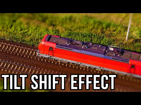 Photoshop Tutorial:  Tilt Shift Filter - How To Transform Photos Into The Look Of Miniature Toys