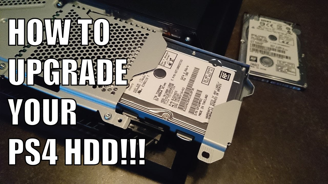 how to get hdd to work with ps4