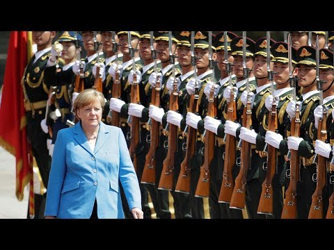 Li Keqiang holds welcome ceremony for visiting German Chancellor Angela Merkel