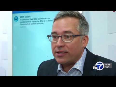 Mobile World Congress [ABC7 RCS Interview - J. Lauer]