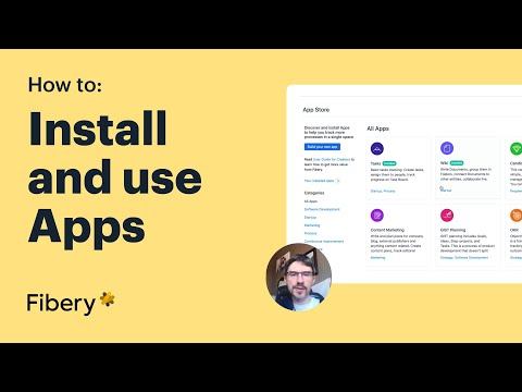 Fibery: install and use Apps