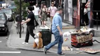 Hipsters in Williamsburg, Brooklyn