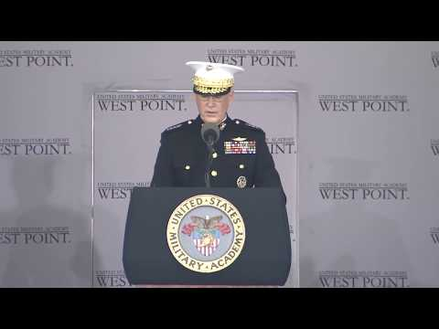 Gen. Joe Dunford's remarks at the U.S. Military Academy 2018 Graduation Ceremony
