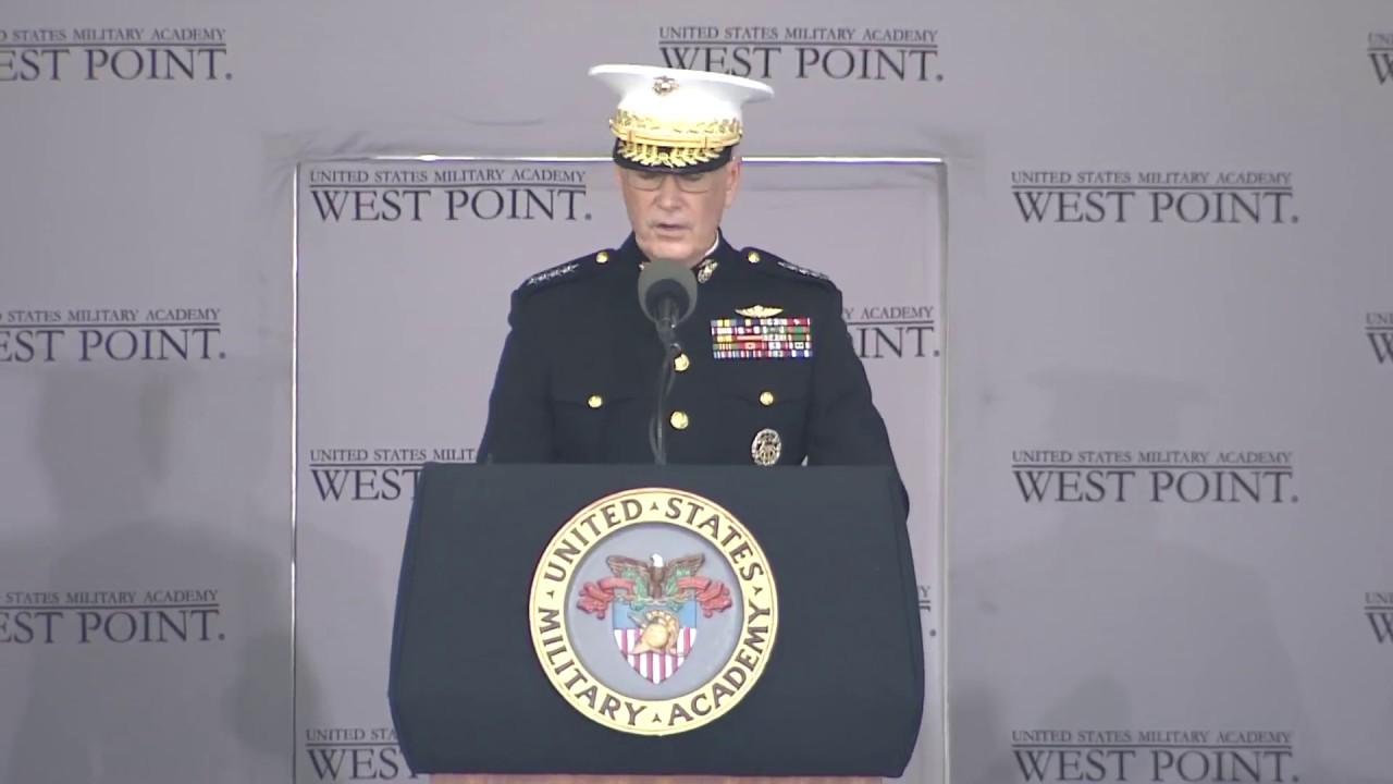 free military graduation speeches