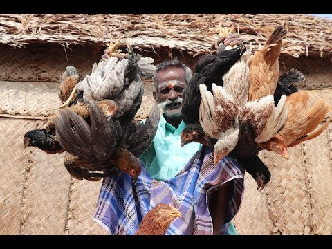 Country Chicken Gravy prepared by my DADDY ARUMUGAM / Village food factory