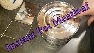 Instant Pot Meatloaf - using the Steamer Insert
