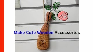Make Cute Wooden Accessories 귀…