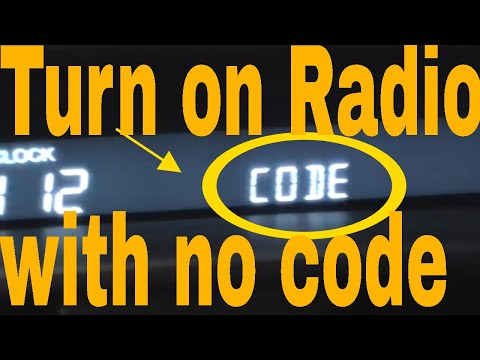 Acura tl radio code instructions / test. - YouTube