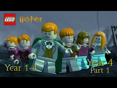 LEGO HARRY POTTER YEARS 1-4 GAMEPLAY PART 1- YEAR 4 THE GOBLET OF FIRE |