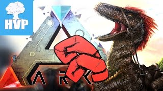 Boxing With Raptors! • Ark Survival Evolved • Ep 2