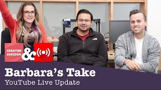 Making money & demystifying live notifications | YouTube Live Streaming Q&A - Barbara's Take thumbnail