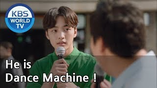 He is Dance Machine ! [Hit the Top / ENG / 2020.02.04]