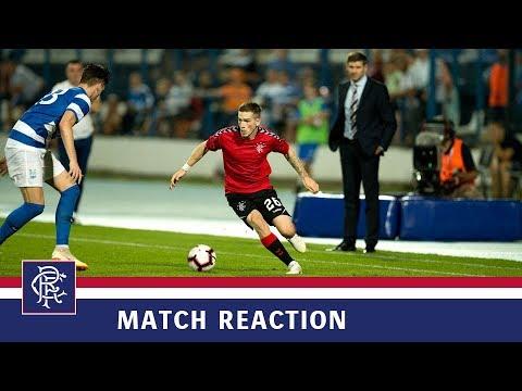 REACTION | Ryan Kent | Osijek 0-1 Rangers