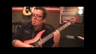 How to play Screaming In The Night by Krokus on guitar by Mike Gross