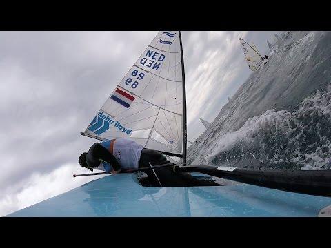 2017 Finn Euros - Day 3 Onboard