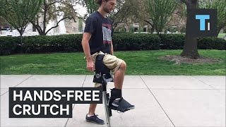 This hands-free crutch could help you heal faster
