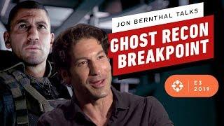 Jon Bernthal on Tom Clancy's Ghost Recon Breakpoint - E3 2019