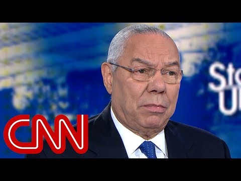 Colin Powell: 'He was not just my boss, he was my friend'