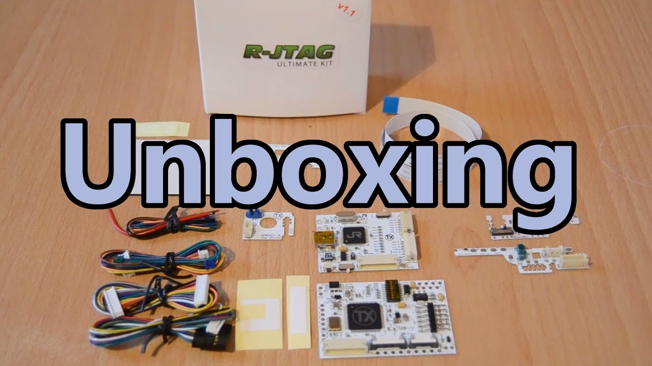 Team Xecuter R-JTAG Ultimate Kit for Xbox 360 - Unboxing - for 48$ on