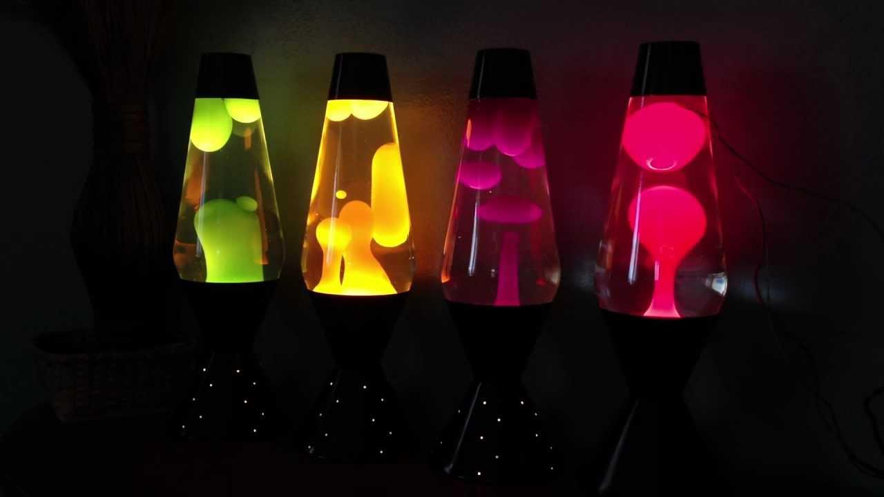 Lava Lite lava lamps - New 2012/2013 NEONS - YouTube