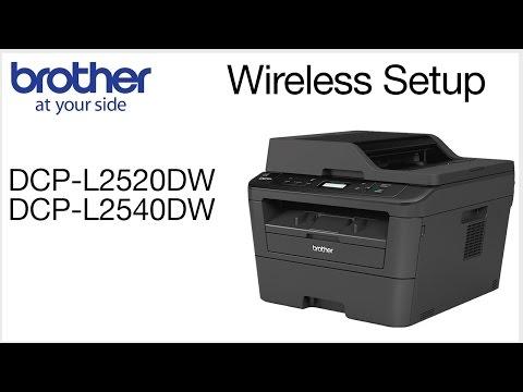 Wireless Setup without using a USB cable DCPL2520DW DCPL2540DW