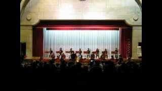 城端中学校吹奏楽部 学習発表会20121028