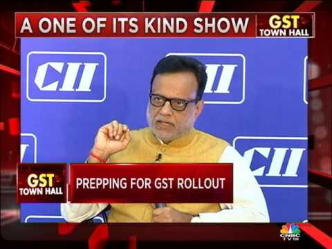 GST TOWN HALL WITH HASMUKH ADHIA (PART 1)