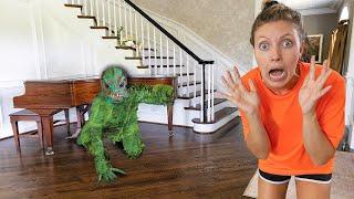 Pond Monster Caught Hiding inside Sharer Fam House (How will it Escape?)