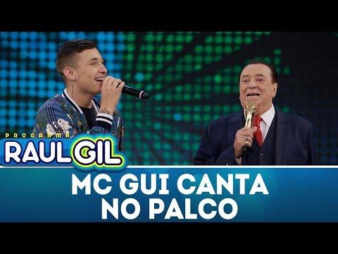 MC Gui canta no palco - Completo | Programa Raul Gil (17/03/18)