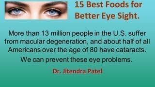 Health Videos: 15 Best Foods for Better Eye Sight