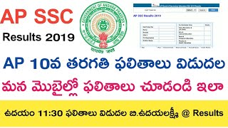 Ap Ssc Results 2019 Latest    Ap 10th Results 2019    Ap 10th class Results 2019