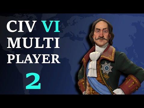 Civilization 6: Multiplayer - Russia Megasode 2 - Japan OP