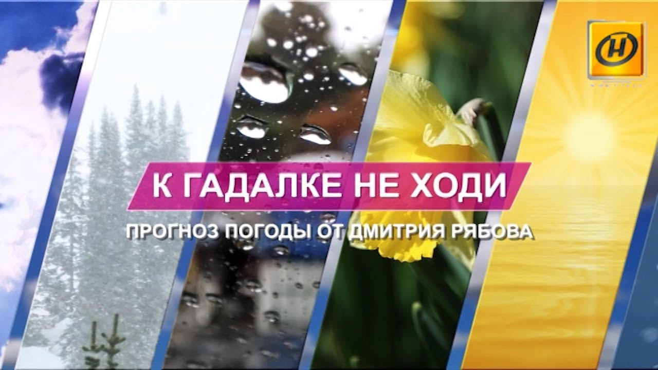 Прогноз погоды на выходные от Дмитрия Рябова