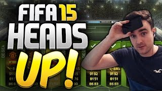 FIFA 15 HEADS UP!!! - HEAD TO HEAD SERIES Vs Nick28T, Itani & xJMX25!