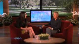 """New Moon's"" Ashley Greene Chats with Ellen"