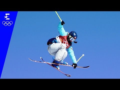 Freestyle Skiing | Ladies' Ski Slopestyle Highlights | Pyeongchang 2018 | Eurosport