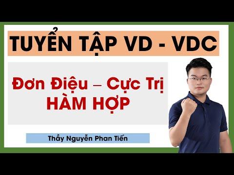 Hàm Hợp Đơn Điệu, Cực Trị VD -VDC || Thầy Nguyễn Phan Tiến